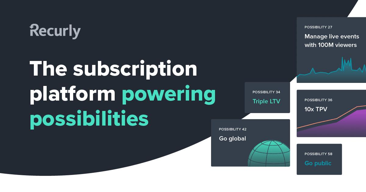 Recurly: Subscription Management & Recurring Billing Platform